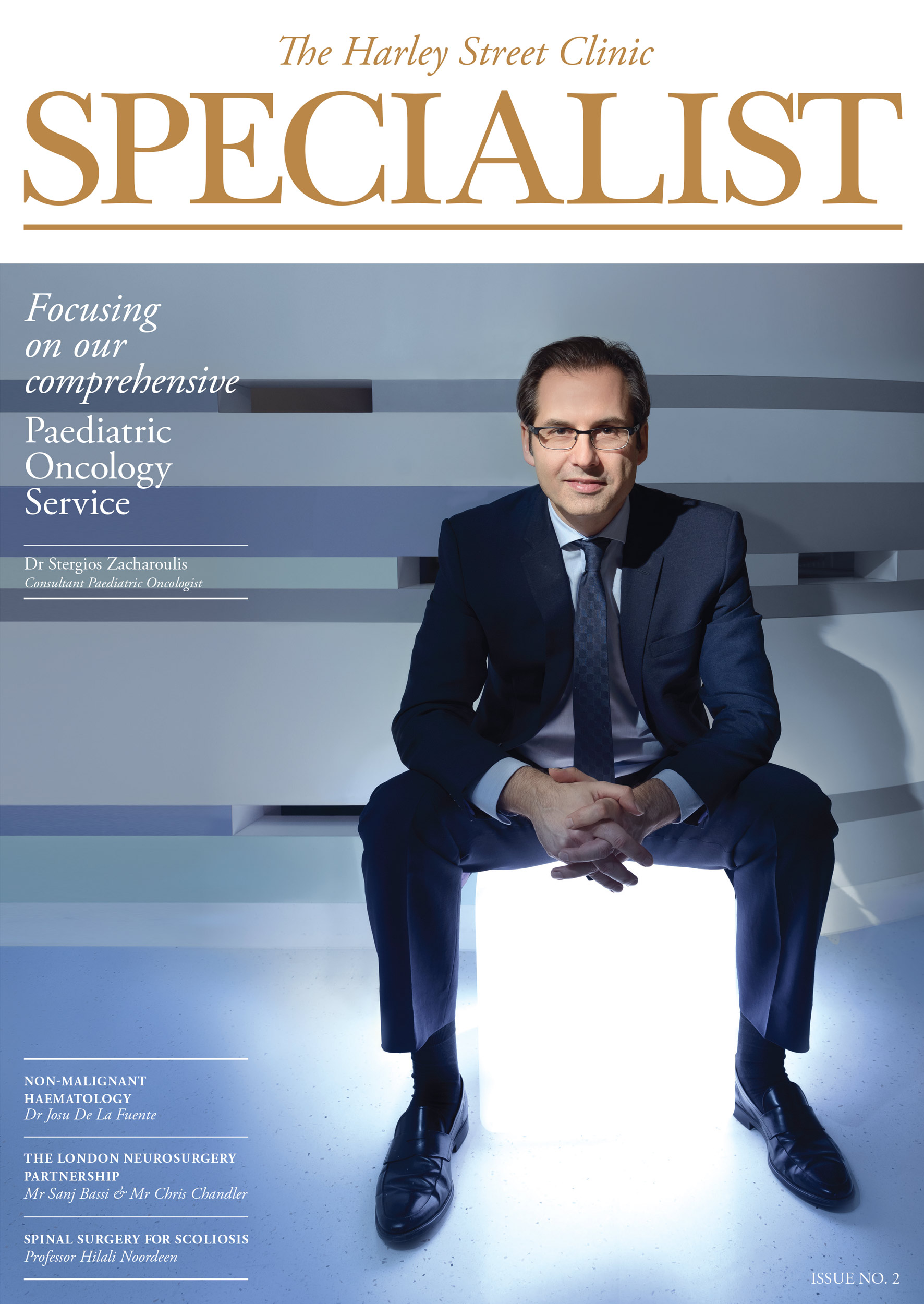 The Harley Street Clinic Specialist Magazine, Issue Two, Cover
